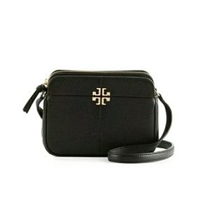 Tory Burch Pebbled Leather Ivy Micro Crossbody